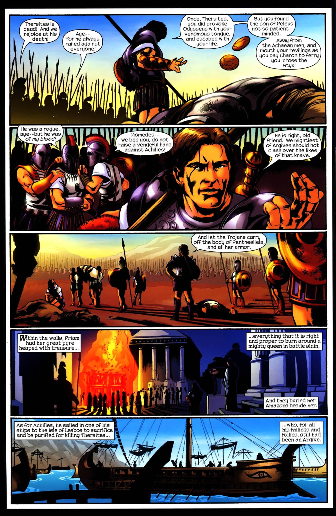 Read online Trojan War comic -  Issue #3 - 17