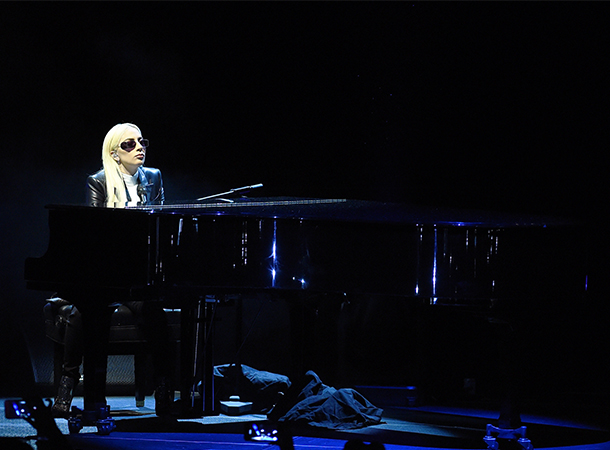 Lady Gaga Joins Sexual Assault Prevention Rally
