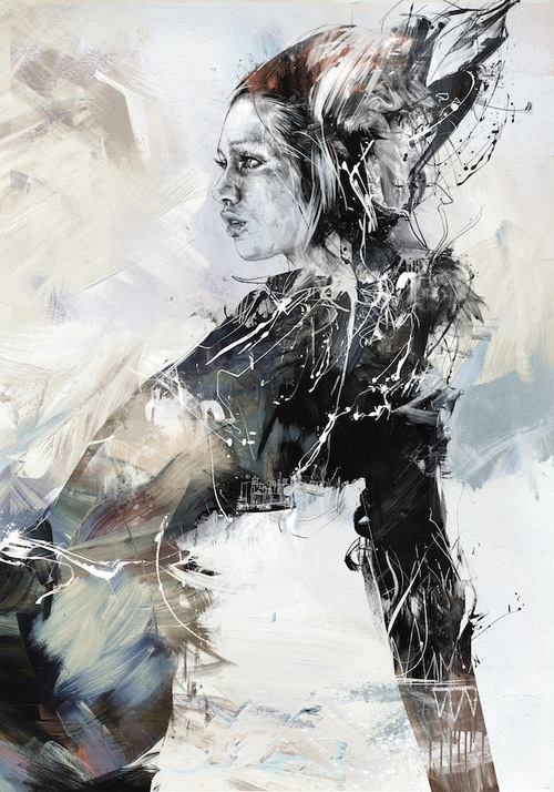 02-Bulbinella-Russ-Mills-Paintings-with-Intensity-of-Expression-www-designstack-co
