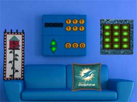 Juegos de Escape - Dolphin House Escape
