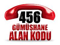 0456 Gümüşhane telefon alan kodu