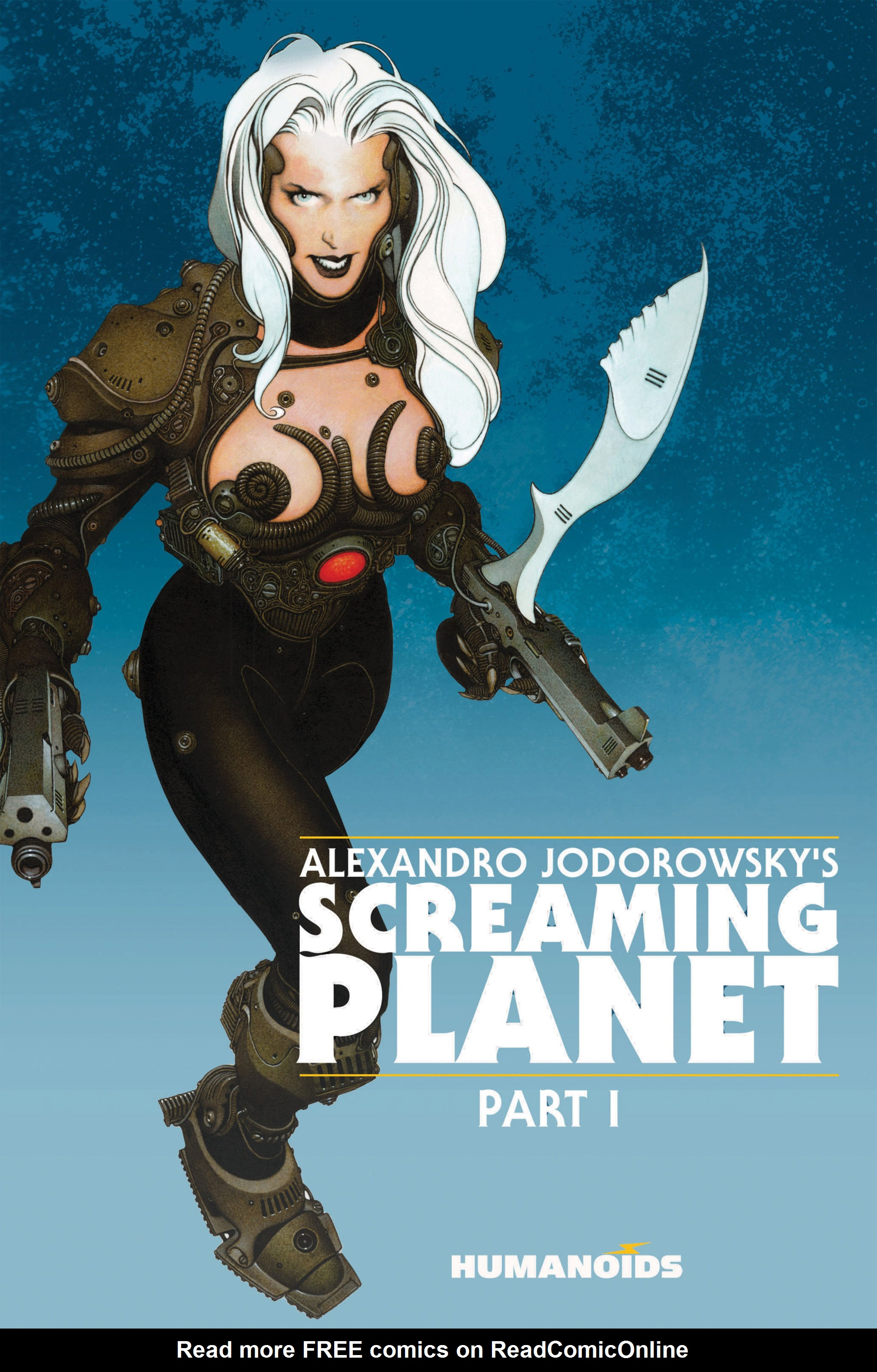 Read online Alejandro Jodorowsky's Screaming Planet comic -  Issue #1 - 1