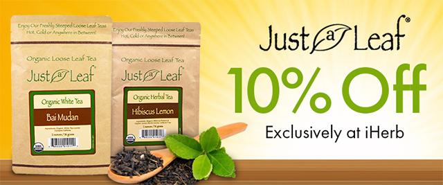 รีวิว iHerb ใบชาออร์แกนิคเพื่อสุขภาพ ลดพิเศษ 10