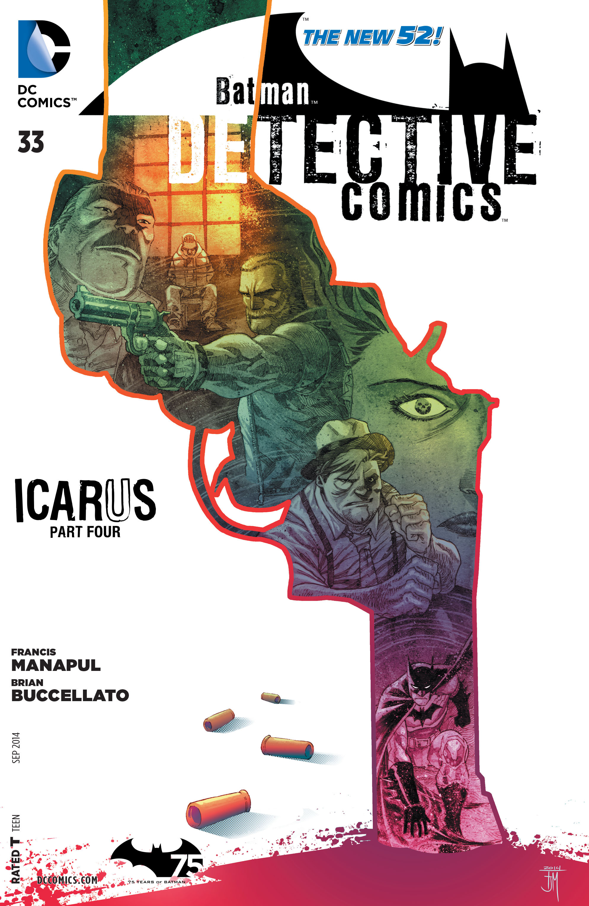 Detective Comics (2011) 33 Page 1