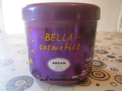 Máscara Bella Cosmetics Argan e Vitamina E