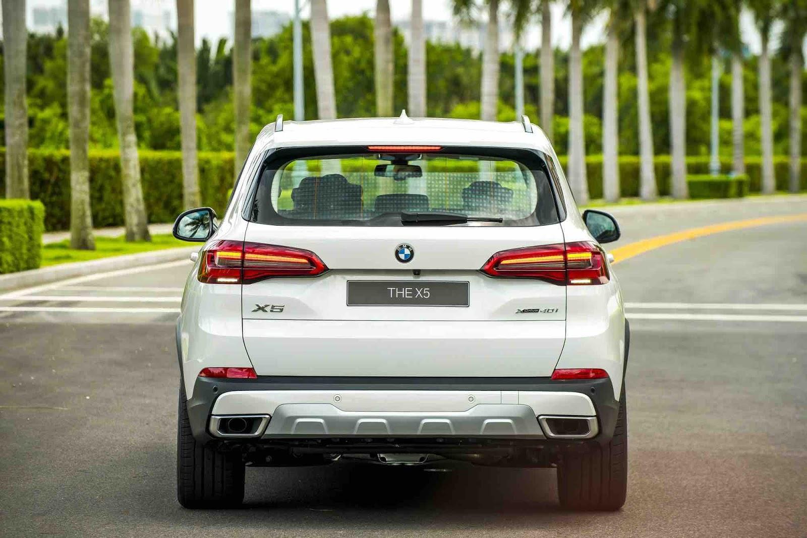 Xe 7 Chỗ BMW X5 Đời 2020 Giá Và Thông Số Kỹ Thuật - ngoại thất màu trắng sữa nhập khẩu