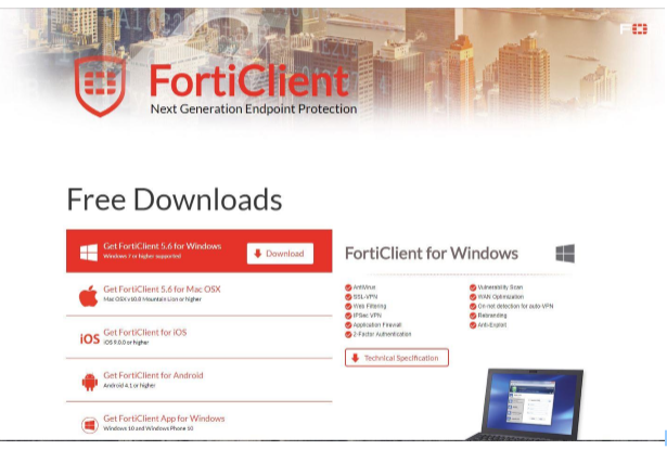 Forticlient User Guide