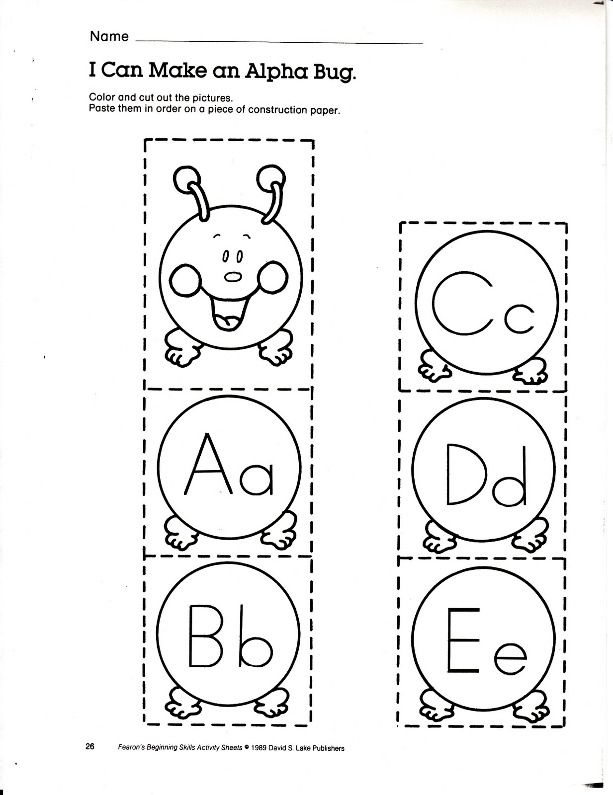 Teacher's Market: Alphabet activities & book list for your ...