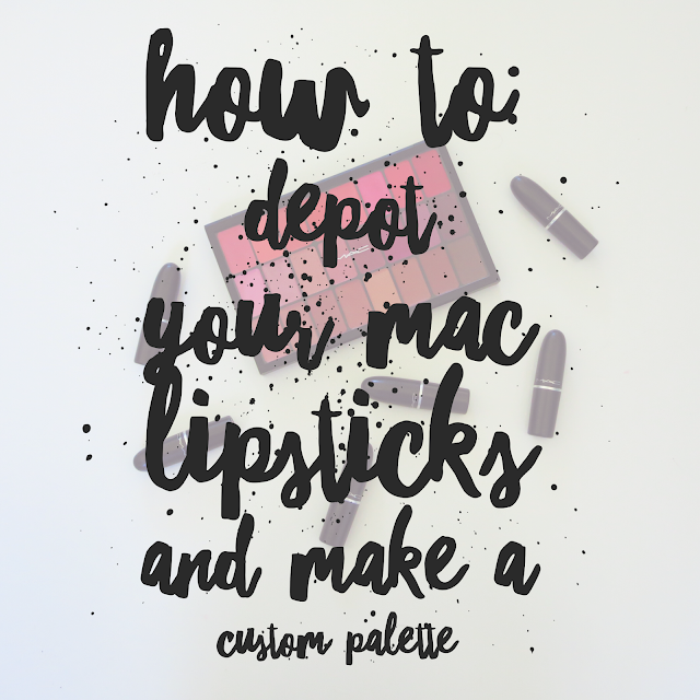 How to Make a DIY MAC Lipstick Palette