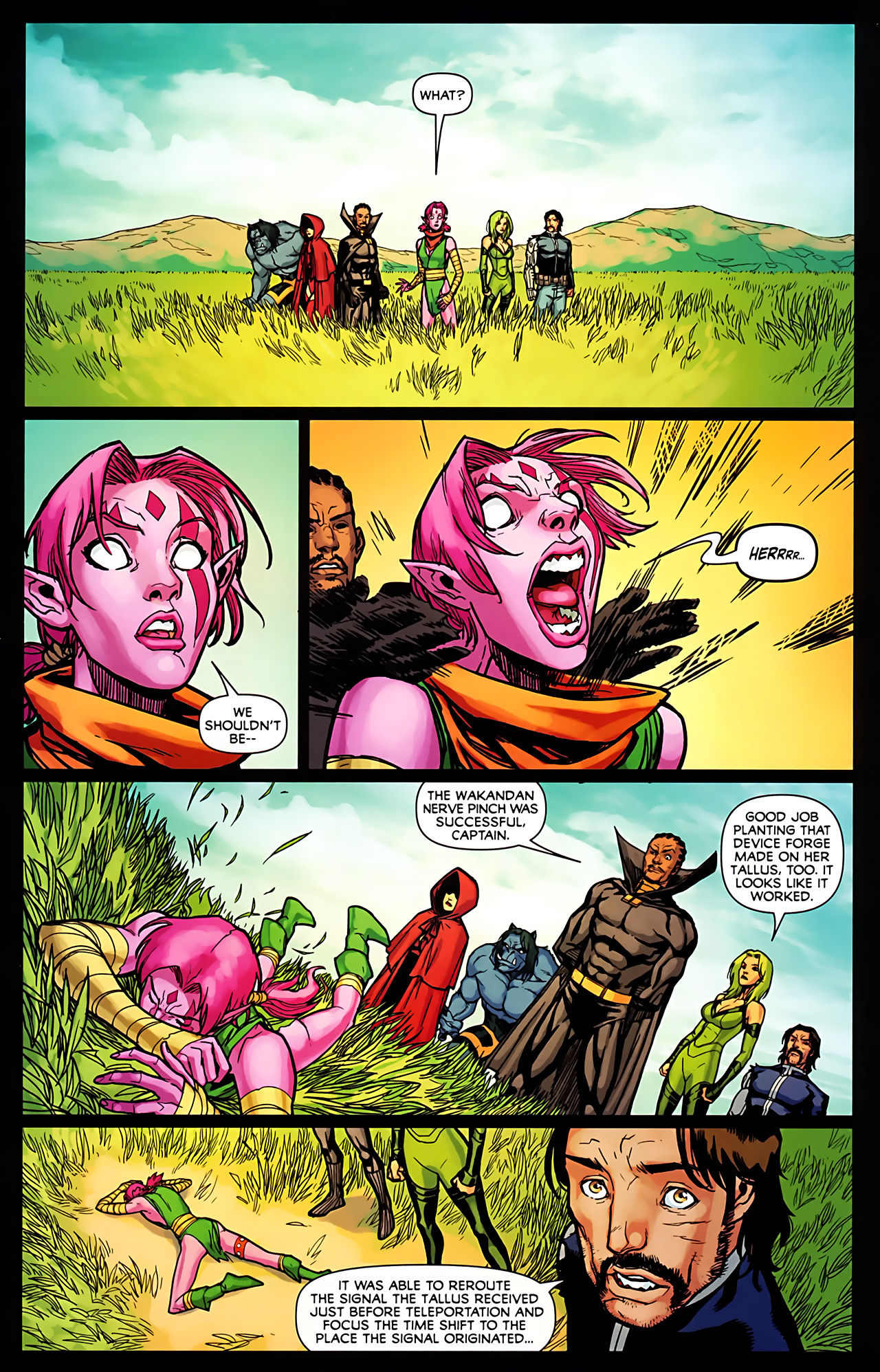 Read online Exiles (2009) comic -  Issue #6 - 19