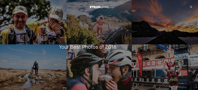 Melhores fotos de 2018 no Strava