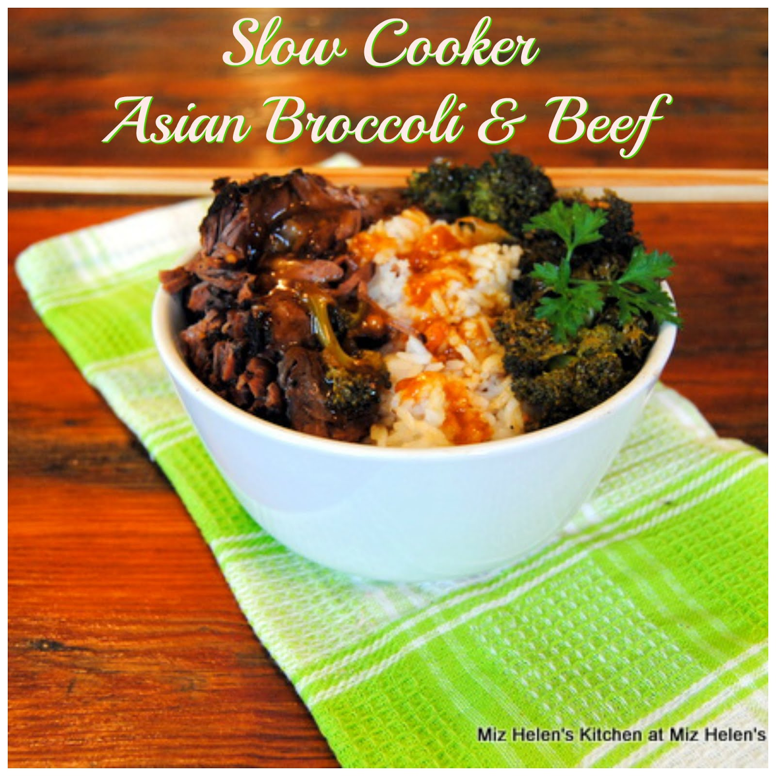 Slow Cooker Asian Broccoli and Beef