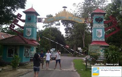pintu-gerbang-taman-nasional-way-kambas-lampung