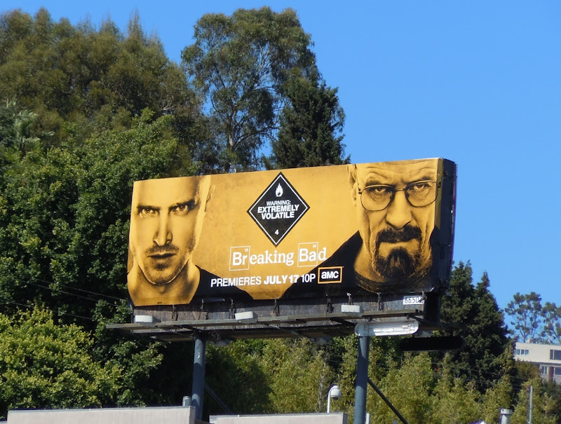Breaking Bad season 4 billboard
