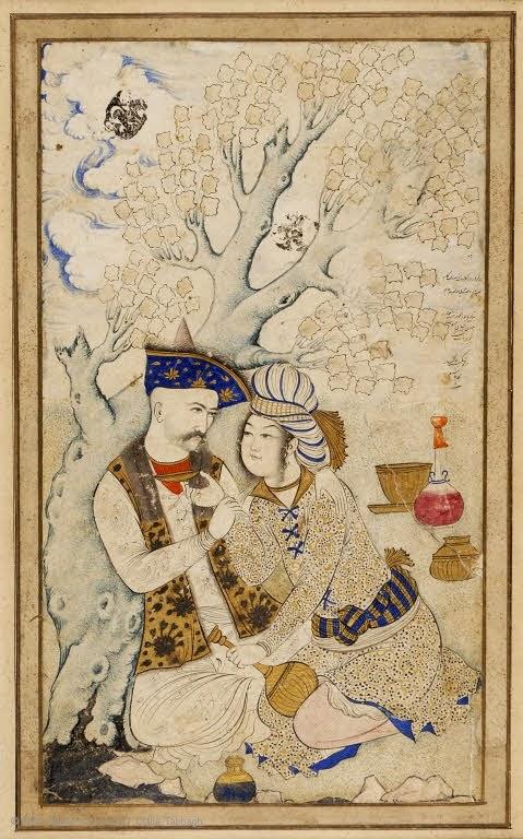 Babur - Shah Abbas with Bacha Bazi - Young Biys as Sexual Object in Islamic Art