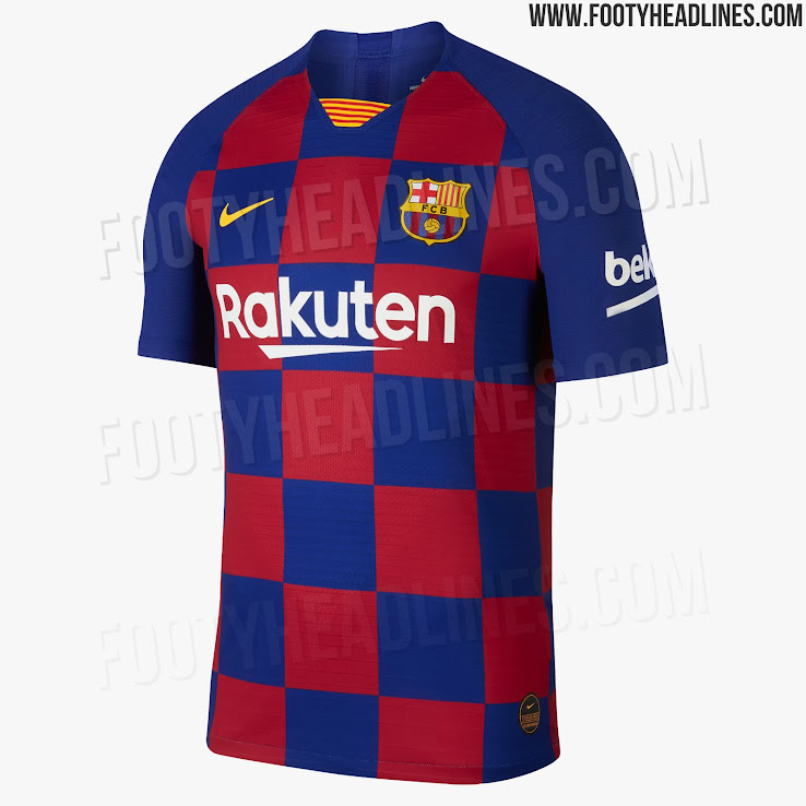 be2b87fe2 Here Is How the Revolutionary FC Barcelona 19-20 Home Kit Will Look ...