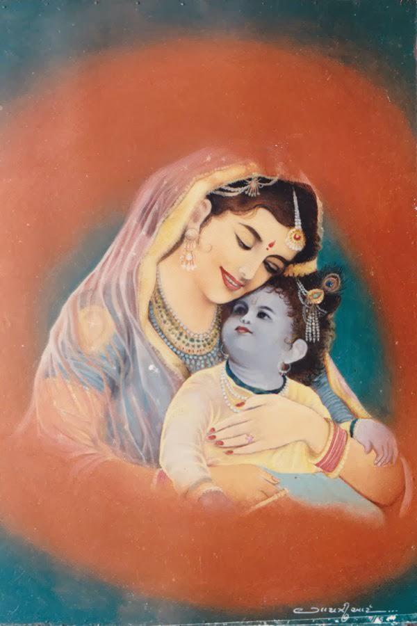 nice radhe krishna image