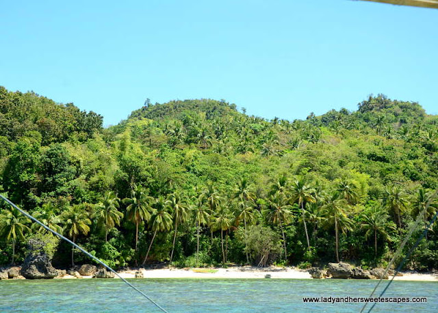 one of the private coves in Sipalay
