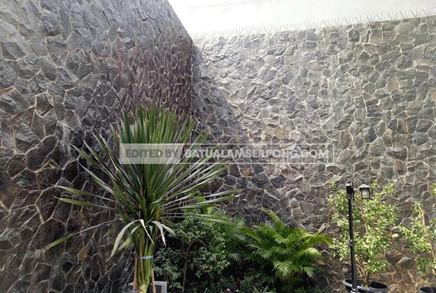 batu alam templek acak garut dan gambarnya