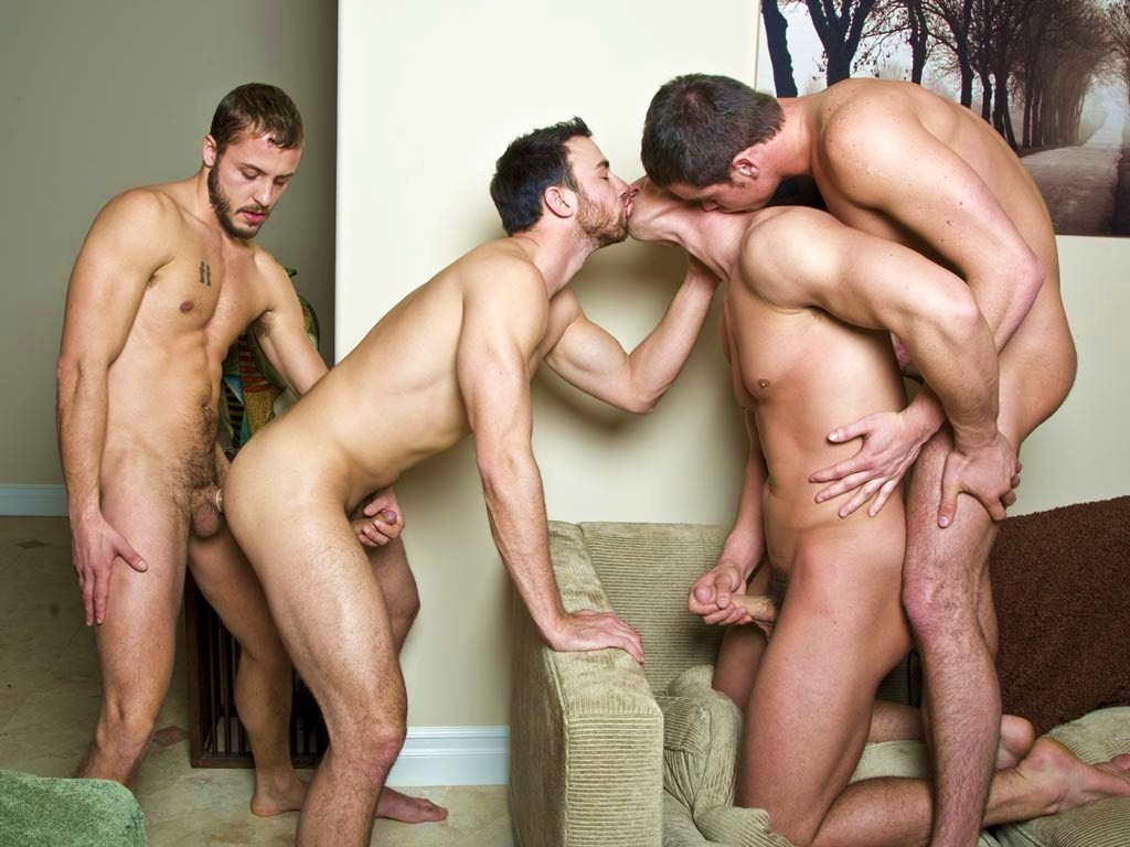 trio de lady boy gay
