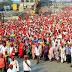 குலுங்கியது மும்பை மாநகரம்: சட்டப்பேரவையை முற்றுகையிட திரண்ட 50 ஆயிரம் விவசாயிகள்