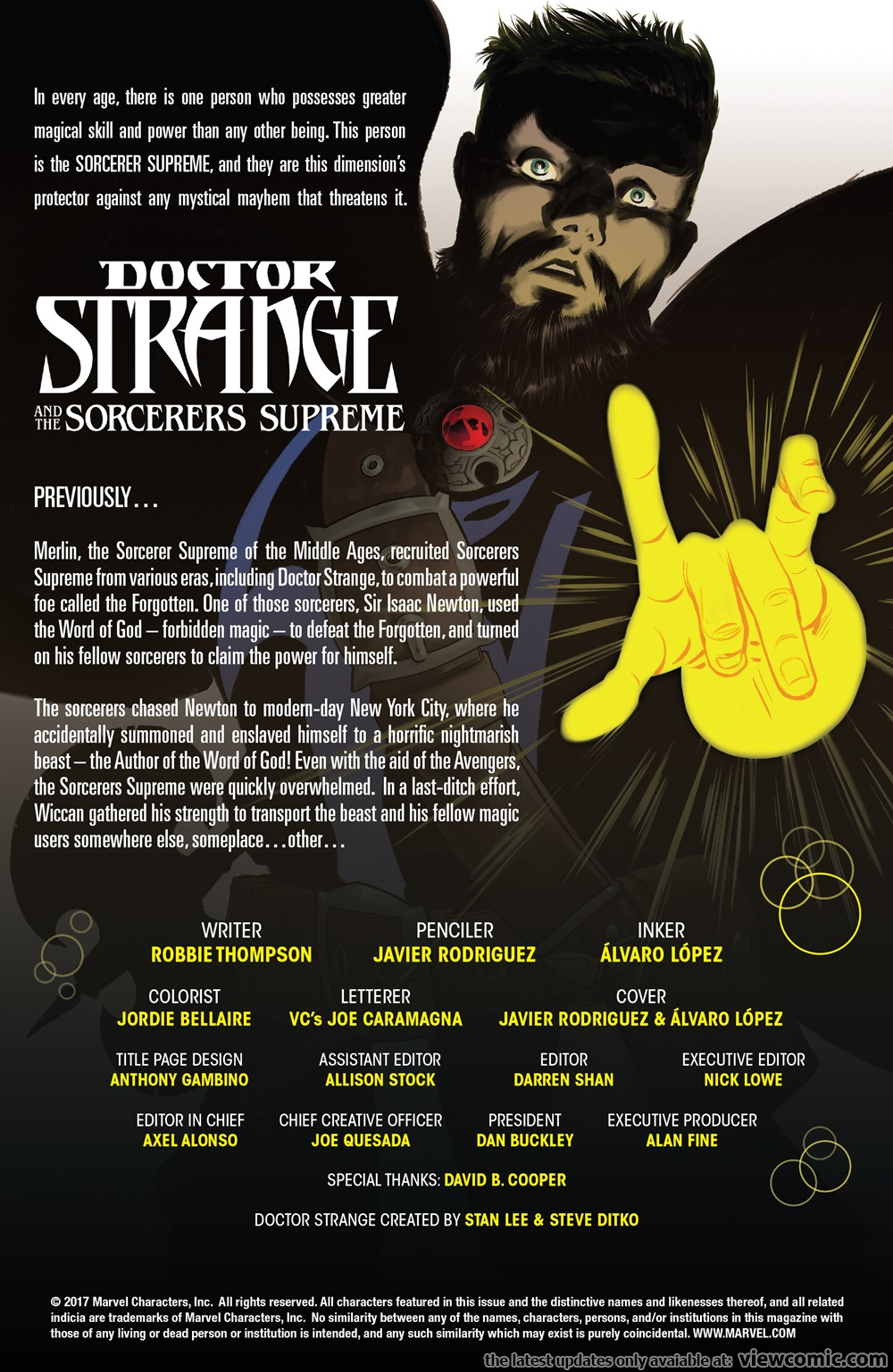 Doctor Strange and the Sorcerers Supreme 009 (2017)   Vietcomic.net reading comics online for free