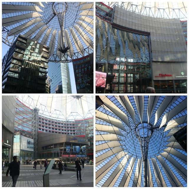 Onde comprar souvenir em Berlim? Sony Center
