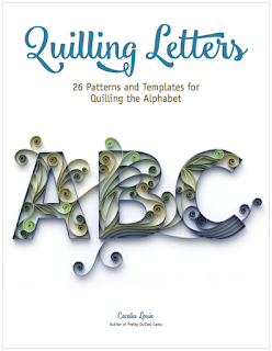 Quilling Letters Book of Patterns