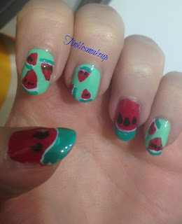 watermelon_nail_art