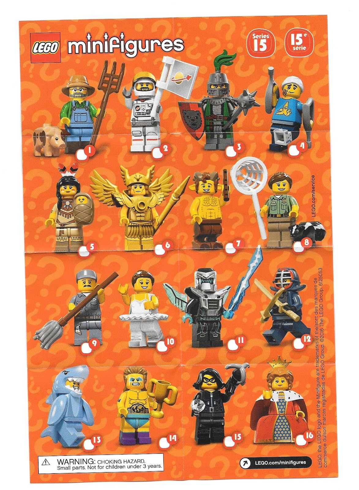 Playing With Bricks Lego Series 15 Minifigures Review