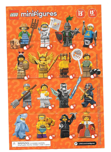 Playing with Bricks: LEGO Series 15 Minifigures - REVIEW