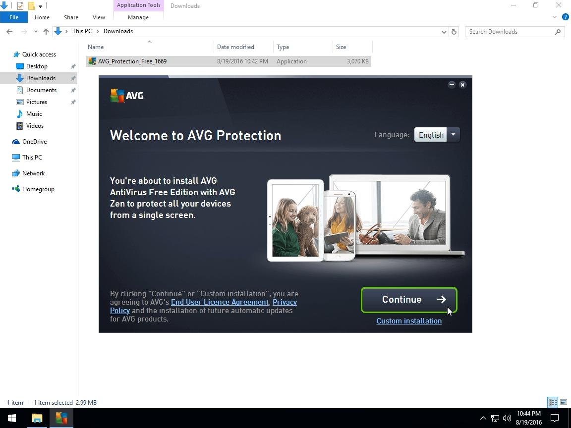 avg antivirus free download for windows xp 32 bit
