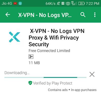 X-VPN mobile