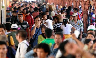 10 Negara dengan Populasi Tertinggi di Dunia