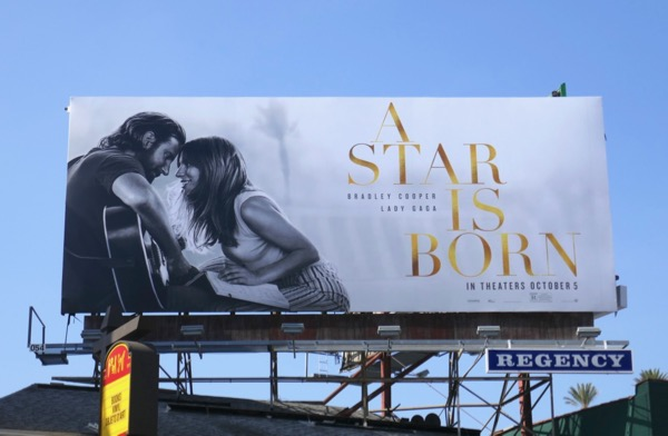 A Star is Born 2018 movie billboard
