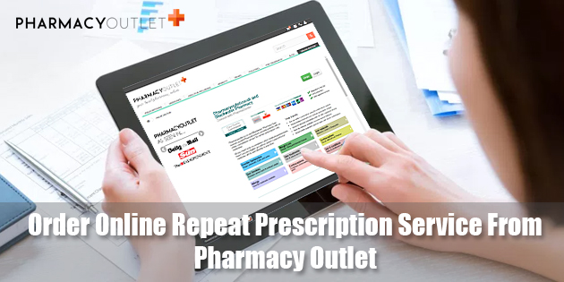 Order Online Repeat Prescription Service