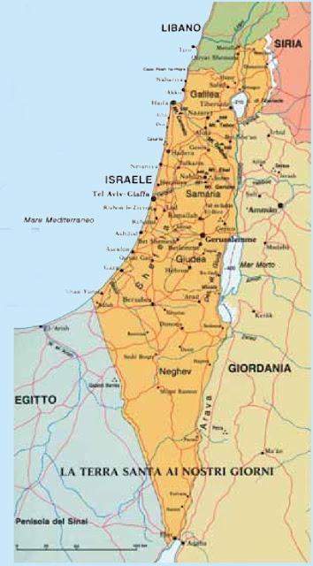 Cartina Fisica Palestina.Cartina Geografica Della Palestina Di Oggi Deplo