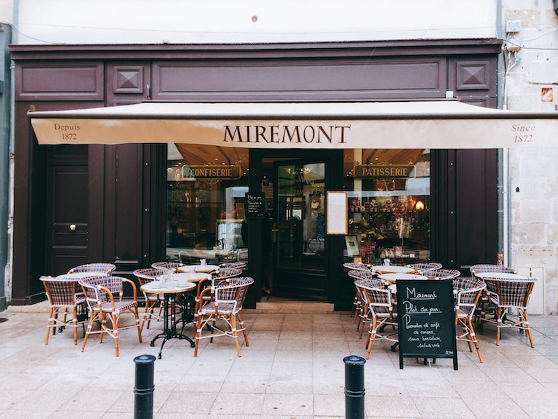 Miremont à Bordeaux, salon de thé et restaurant