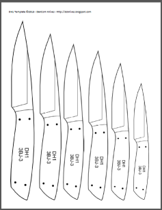 photo regarding Printable Folding Knife Templates identify Do-it-yourself Knifemakers Details Heart: Knife Behavior