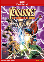 MARVEL FIRST LEVEL. LOS VENGADORES Y EL GUANTALETE DEL INFINITO