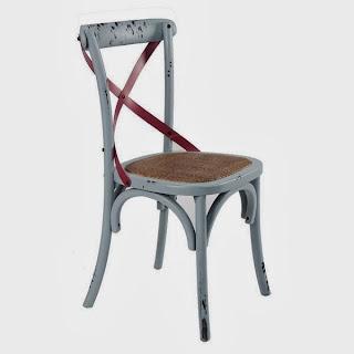 silla cruces en color, silla comedor, silla cocina