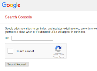 google web master submit url