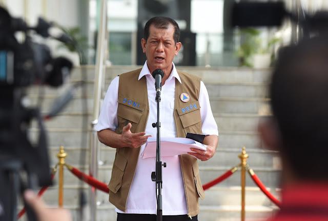 Doni Monardo Ungkap Presiden Dukungan Penurunan Kasus COVID-19 di 57 Wilayah