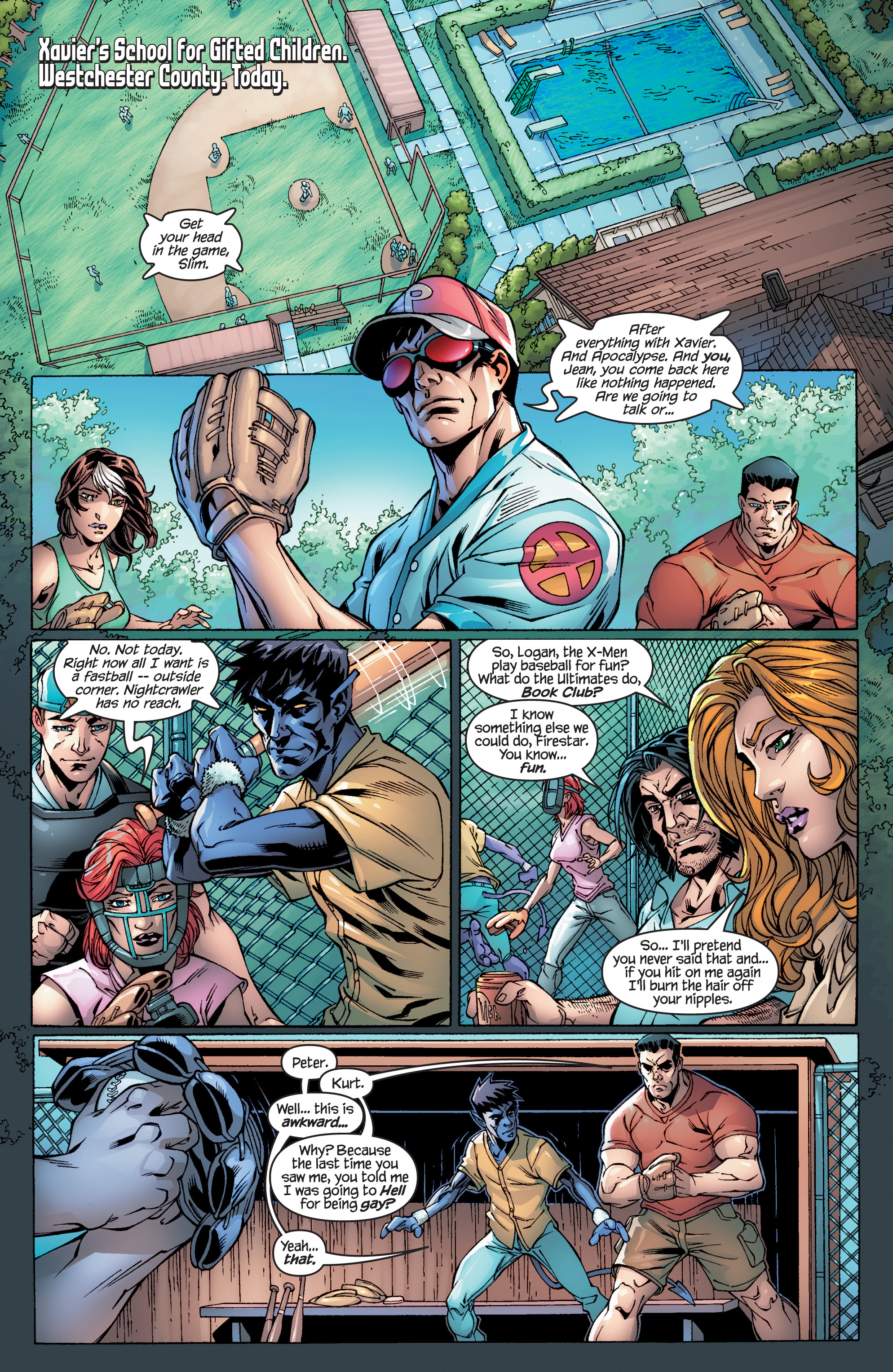 Read online Ultimate X-Men comic -  Issue #94 - 5