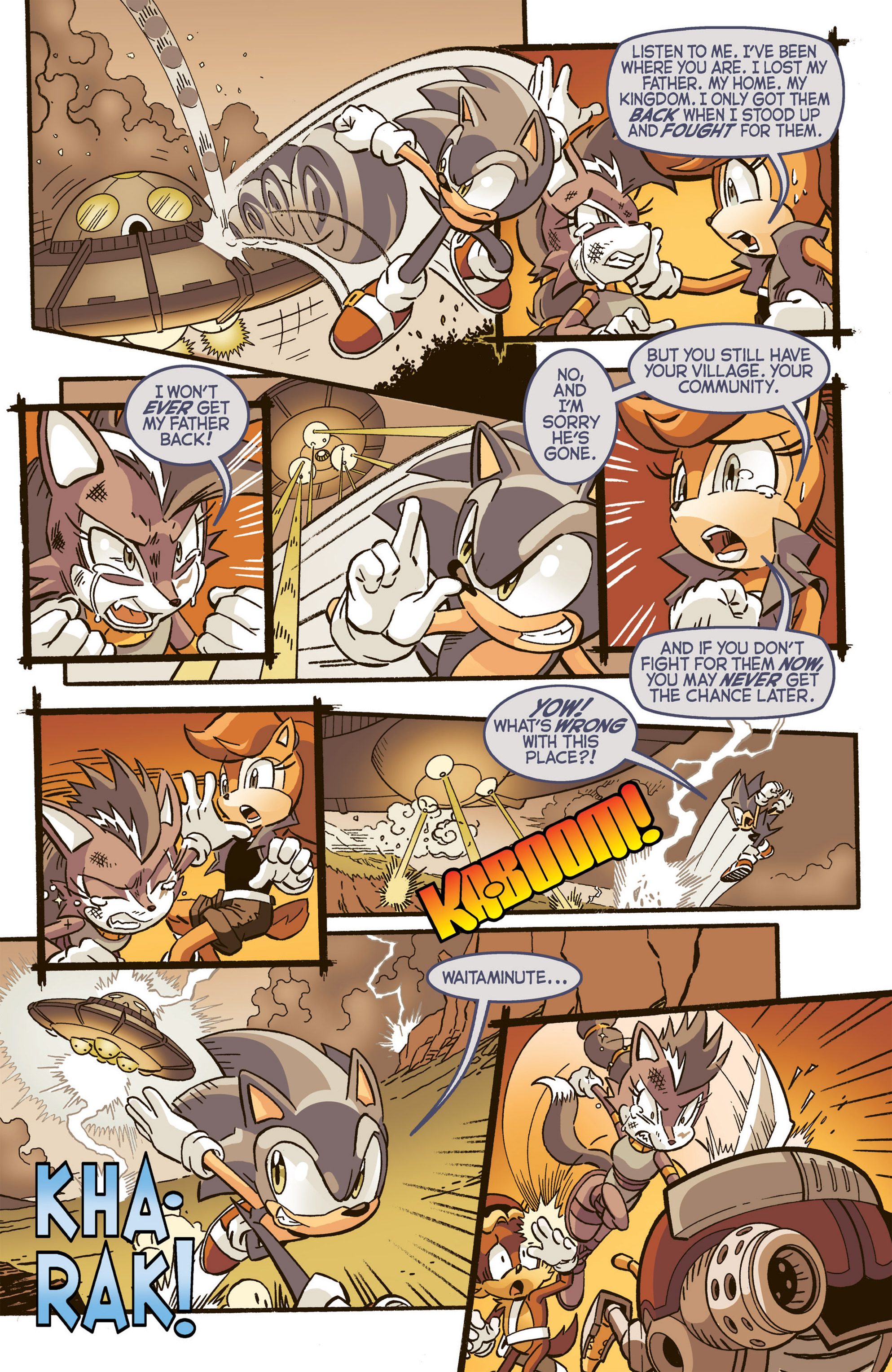 Read online Sonic The Hedgehog comic -  Issue #277 - 8