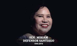 RIP Miriam Santiago