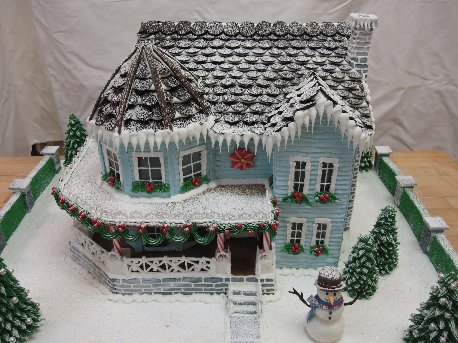 Miniature Gingerbread Houses On Pinterest