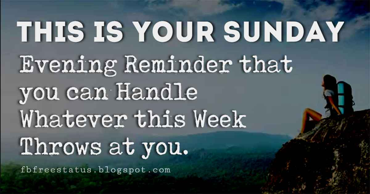 Good Morning Sunday Quotes, Wishing You A Relaxing Sunday