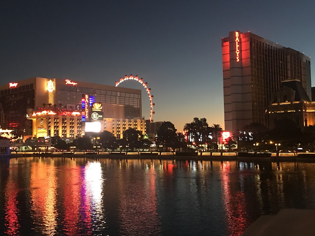 Dawn on the Las Vegas Strip
