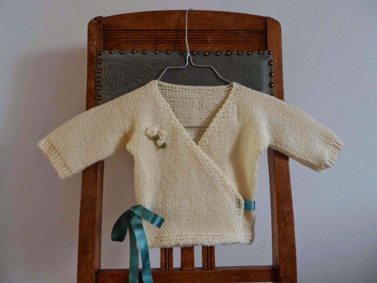 Zauberflink Yarn Along Baby Kimono